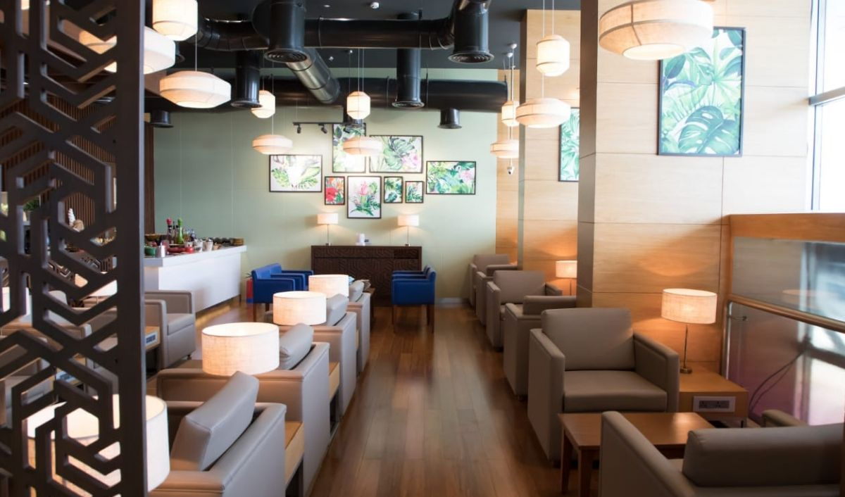 GVK MIAL Oasis Lounge Terminal 1B