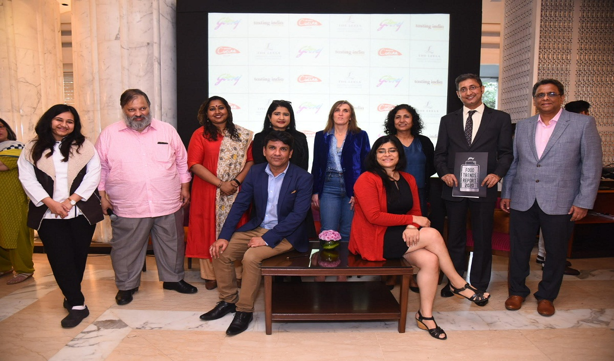 The Godrej Food Trends 2020 report was revealed at the 4th Tasting India Symposium event at The Leela Ambience Hotel in Gurugram on Thursday.