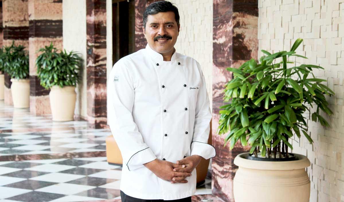 Celebrity Chef Gautam Mehrishi