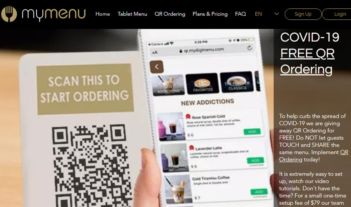 Is Qr Ordering Solution Future Of Restaurants Post Covid