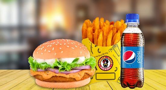 Burger Singh Combo
