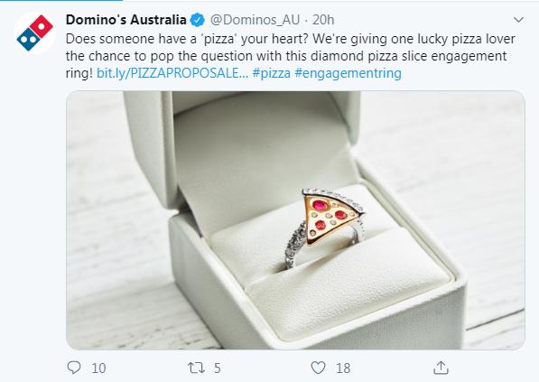 Domino's Ring