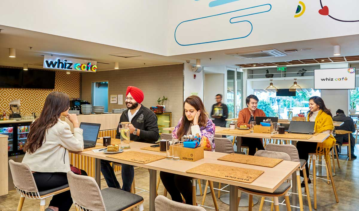 Whizdom Club launches Whiz Café to inspire collaboration