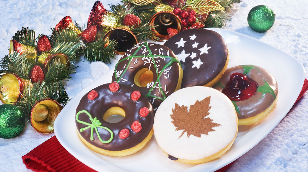 Christmas In India Food.Celebrate Christmas With Special Themed Mad Over Donuts