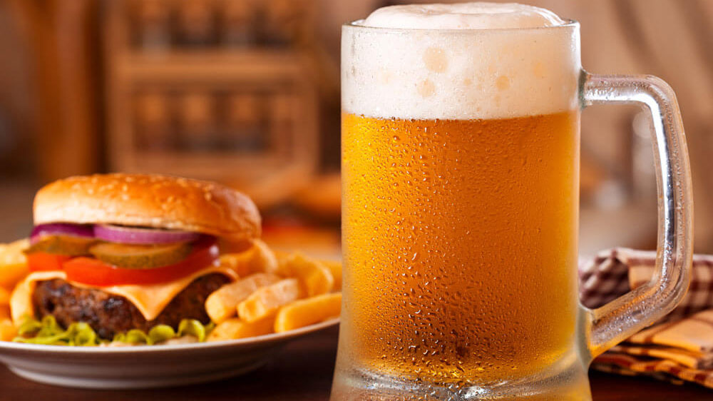 Wendy S Pairs Wine Beer With Burgers