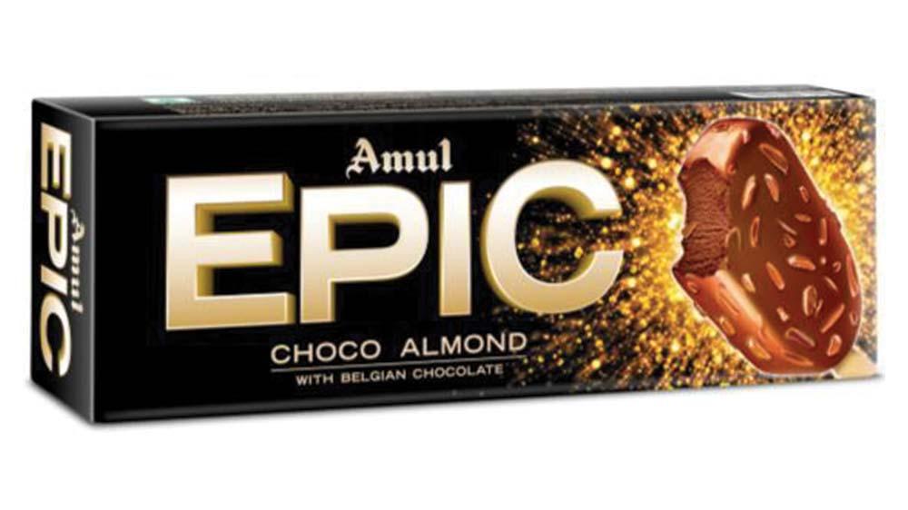 Amul launches Epic, a premium range of ice creams