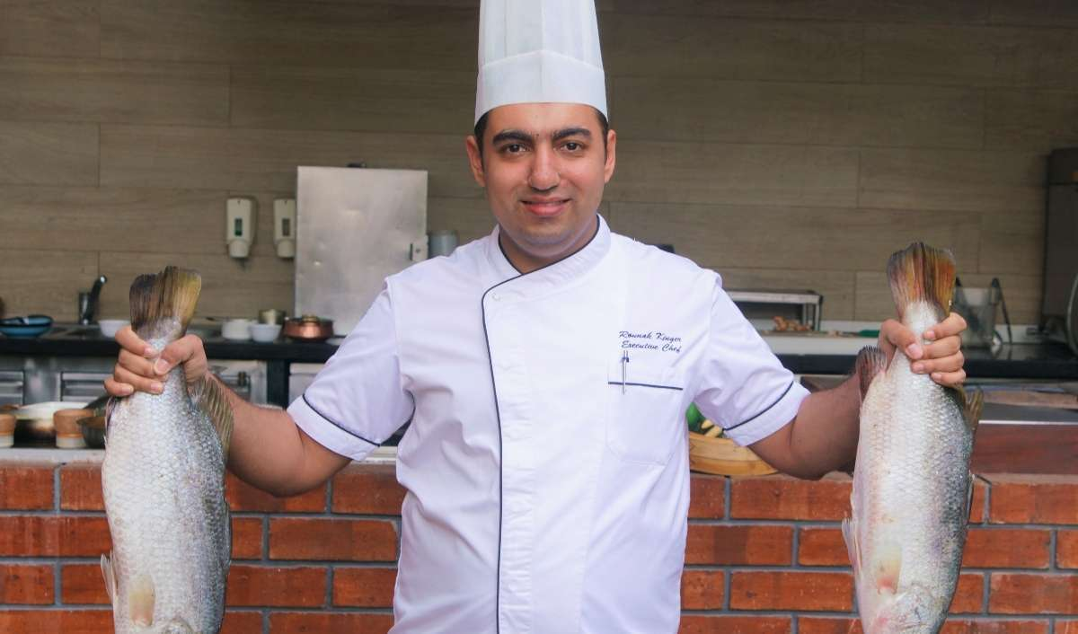 Rounak Kinger, the Executive Chef at Courtyard Marriott Pune Hinjewadi