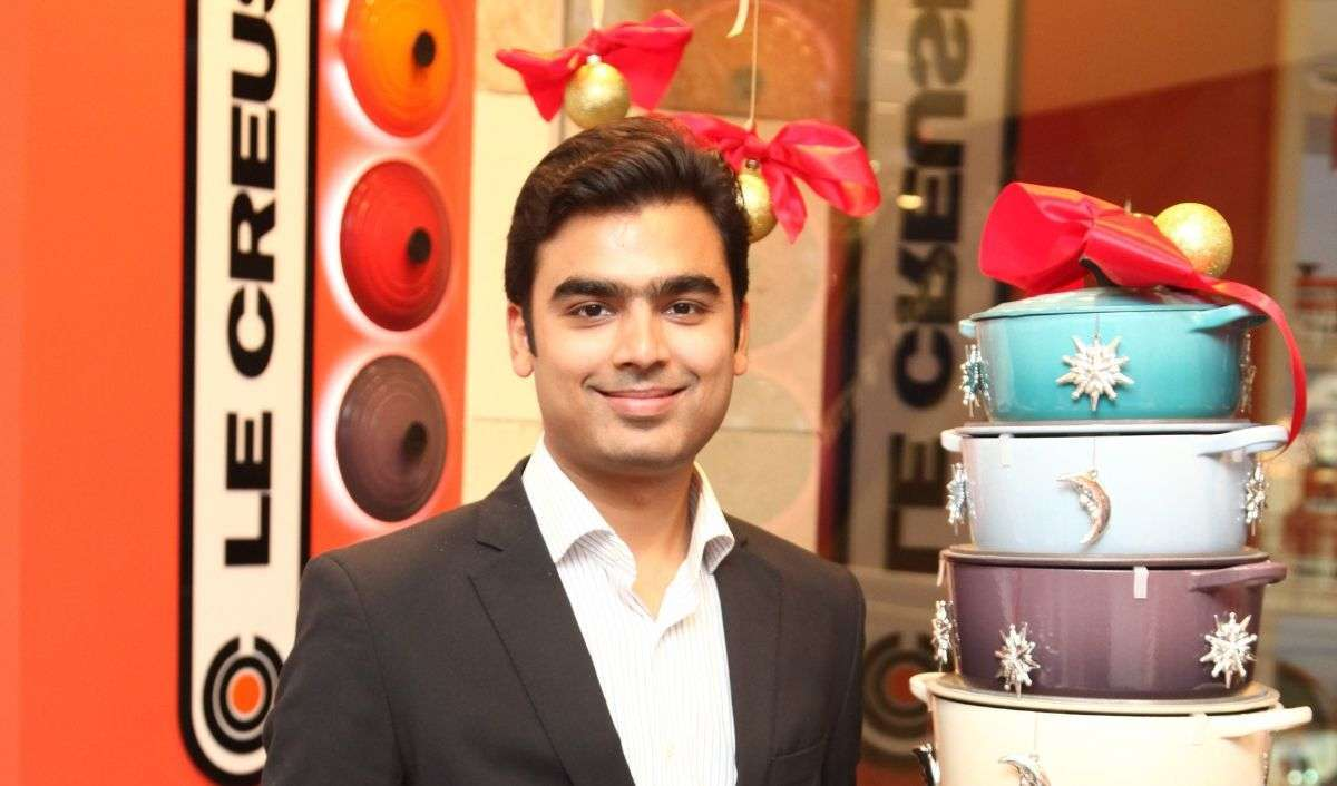 Ankur Damani, Country Head, Le Creuset India