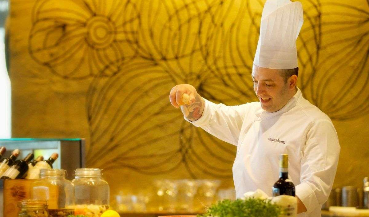 Chef Marco Murenu, Italian Chef de Cuisine at Prego, The Westin Gurgaon