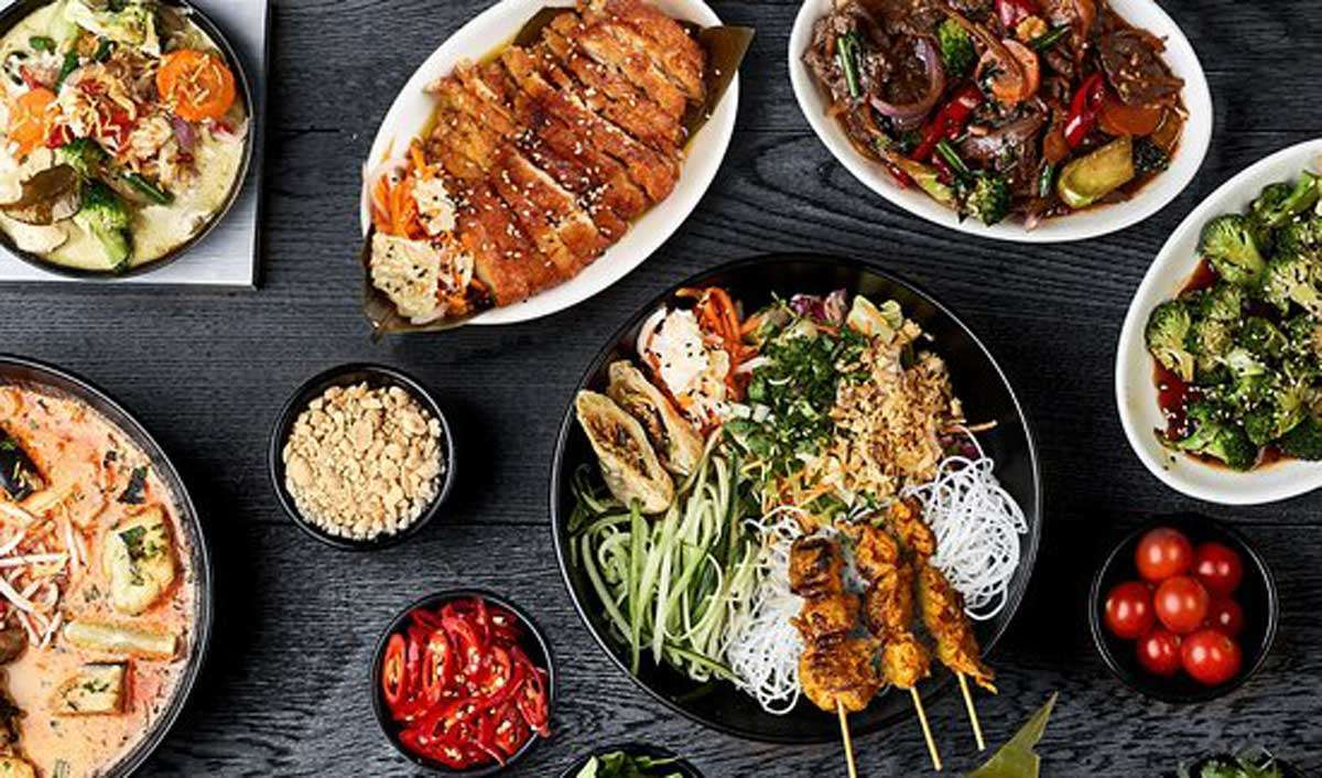 Pan-Asian food
