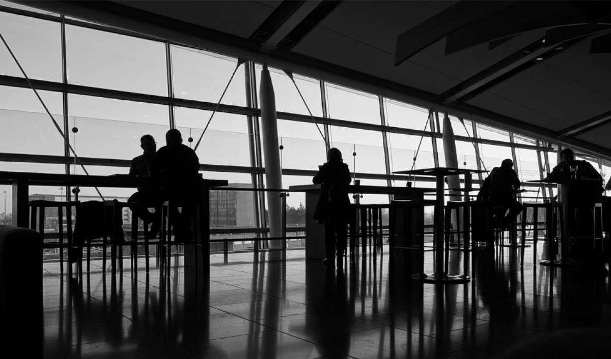 Airport location