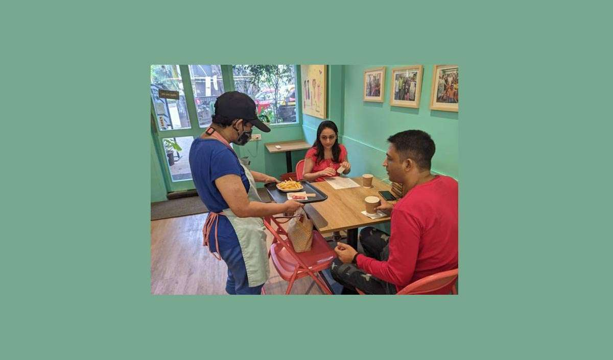 Specially-abled Cafe